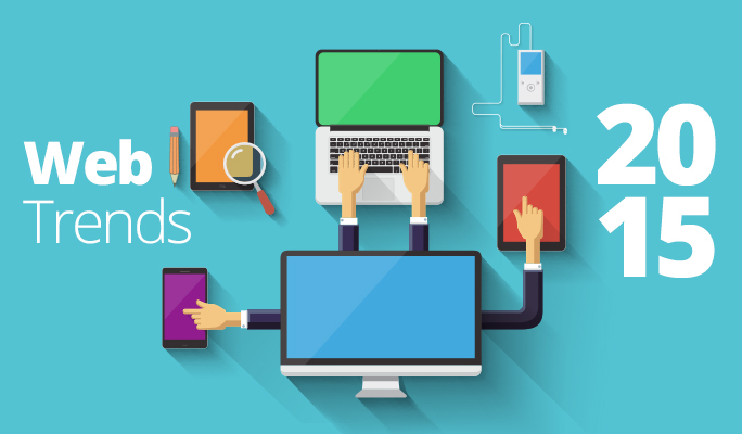web designing trends and techniques 2015